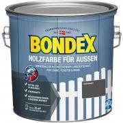 Bondex Holzfarbe für Außen 2,5 L anthrazit