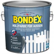 Bondex Holzfarbe für Außen 2,5 L weiß