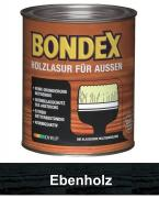 BONDEX Holzlasur für Außen 0,75 L Ebenholz
