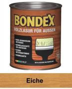 BONDEX Holzlasur für Außen 0,75 L Eiche