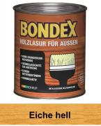 BONDEX Holzlasur für Außen 0,75 L Eiche hell