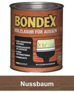 BONDEX Holzlasur für Außen 0,75 L Nussbaum