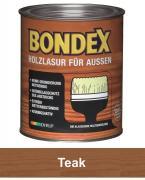 BONDEX Holzlasur für Außen 0,75 L Teak