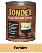 BONDEX Holzlasur für Außen 0,75 L Wetterschutz Farblos