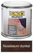 Bondex Holzpaste Nussbaum Dunkel zum Reparieren und Auskitten von Holzschäden 150 g