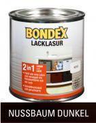 Bondex Lackglasur Nussbaum Dunkel 0,375 L