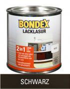Bondex Lackglasur Schwarz 0,375 L