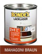 Bondex Lacklasur Mahagoni Braun 0,375 L
