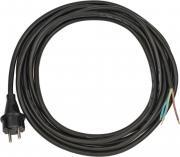 Brennenstuhl Anschluss-Leitung 5m H07RN-F3G1.0 schwarz mit angespritztem Stecker