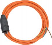 Brennenstuhl Anschlusskabel Stromkabel Schuktzkontaktstecker 3-polig AT-N07V3V3-F 3G1,5 orange 3 m