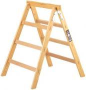 Brennenstuhl Arbeitsbock Leiter Bock 3 Stufen Holz