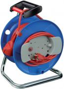 Brennenstuhl Garant G Gerätekabeltrommel Kabelverlängerung Spezialkunststoff Einsatz im Innenbereich IP20 25m blau
