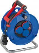 Brennenstuhl Garant IP44 Kabeltrommel Stromverlängerung blau H05RR-F 3G1,5 20 m