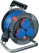 Brennenstuhl Garant Kompakt IP44 Kabeltrommel Stromverlängerung schwarz H05VV-F 3G1,5 15 m