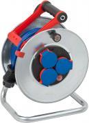 Brennenstuhl Garant S IP44 Kabeltrommel Stromverlängerung Stahlblech blau AT-N05V3V3-F 3G1,5 25 m