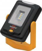 Brennenstuhl LED Taschenlampe HL DB43 MH4 SMD LED-Universalleuchte Werkstattlampe 360° drehbar schwarz/gelb