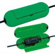 Brennenstuhl Safe-Box bei Kabelsteckverbindungen Adapterleitung