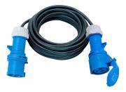 Brennenstuhl Verlängerungsleitung CEE IP44 10m 3G2,5 Verlängerungskabel Stromkabel Außen Stecker und Kupplung
