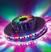 Briloner RGB-LED Lichtrad Kunststoff schwarz