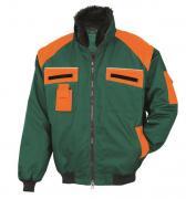 Bullstar Allroundblouson Arbeitsjacke grün/orange Gr. M