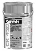 Ceresit CK 420 PU-Drainpflasterfuge 1K hochfester Pflasterfugenmörtel für Fugen ab 5 mm Breite sand-gelb 17,5 kg