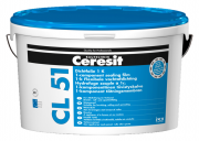Ceresit CL 51 Dichtfolie 1K Wasserdichte, flexible Abdichtung unter Fliesen und Platten weiß 7,5 kg