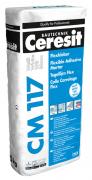Ceresit CM 117 Flexkleber weiß zur Verlegung von keramischen Fliesen, Platten und Naturstein 25 kg
