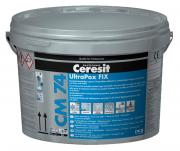 Ceresit CM 74 UltraPox Fix Epoxidharz-Klebstoff zur kraftschlüssigen Verlegung und Verfugung von Fliesen und Platten 2K manhattan 8 kg