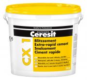 Ceresit CX 1 Blitzzement zum Abdichten von Wasserdurchbrüchen schnellsthärtend 6 kg