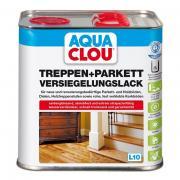 Clou Aqua Clou Treppen- & Parkettlack L10 2,5 ll seidenglänzend