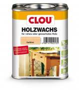 Clou HolzWachs W 1 farblos Wasserabweisendes und auf Glanz polierbares Holzwachs für rohes oder gewachstes Holz 750 ml