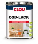 Clou OSB- Lack farblos Hochstrapazierfähige Versiegelung für OSB-Platten im privaten Wohnbereich 0,75 l