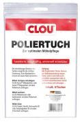 Clou Poliertuch 5er Packung reißfest fusselfrei saugkräftig