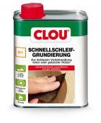 Clou Schnellschleifgrundierung farblos Grundierung Holzgrund G1 750 ml