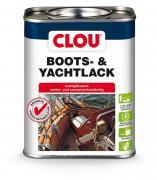 Clou Yachtlack Bootslack Klarlack Holzlack Holzschutz glänzend farblos 750 ml