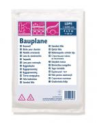 COLOR EXPERT Bauplane LDPE 30my 50 m2 = 4 x 12,5 m