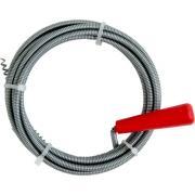 CON:P Rohrreinigungsspirale Ø 6 mm mit Kurbel und Kralle Stahl verzinkt