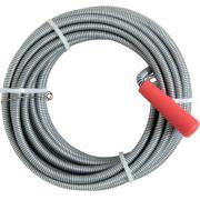 CON:P Rohrreinigungsspirale Ø 9 mm 1000 cm Stahl verzinkt