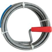 CON:P Rohrreinigungsspirale Ø 9 mm 5 m Länge Stahl verzinkt