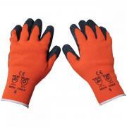 CON:P Winterhandschuhe orange Größe 10