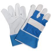 Connex Handschuhe Rindvollleder Größe 10 Lederqualität 1,1 mm, Handinnenfläche gefüttert, Doppelnaht
