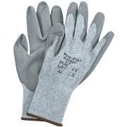 Connex Handschuhe Schnittschutz Größe 8 HPPE graue Nitril-Schaumbeschichtung in der Innenfläche Schnittschutzstufe 3 gemäß EN 388