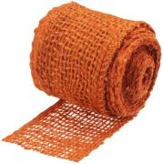 Connex Jute-Dekoband 6 x 300 cm orange