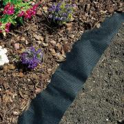 Connex Unkraut-Vlies Gartenvlies Mulchvlies Bodengewebe Unkrautfolie 10 x 0,9 m schwarz 50 g auf Rolle