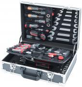 CONNEX Werkzeugkoffer 116-teilig Aluminium-Koffer
