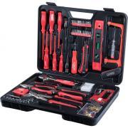 CONNEX Werkzeugkoffer 60-teilig Kunststoff-Koffer, Haushaltskoffer