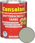 Consolan Wetterschutz-Farbe Grau 2,5 L