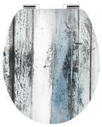 Cornat Art of Acryl WC-Sitz WOODEN mit Absenkautomatik