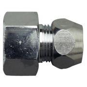 Cornat Gerade Quetschverschraubung Messing verchromt 1/2 IG 3/8 IG-AG Ø 10 mm