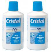Cristal Überwinterrungshilfe Sparpaket 2 x 1 Liter Winterfluid